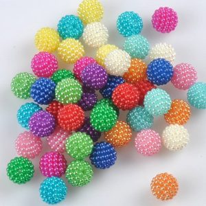 Acrylic Beads - Multi Colour
