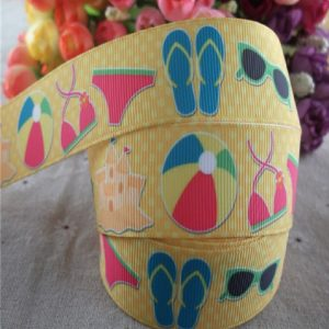 Grosgrain Ribbon - Beach Theme