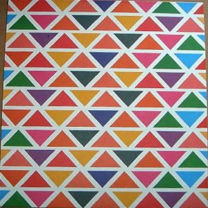 Triangles Printed Paper