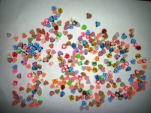 Mixed Polymer Clay Shape Beads