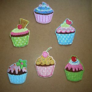 Cup Cake Appliques