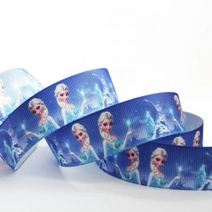 Grosgrain Printed Ribbon Frozen Elsa Theme