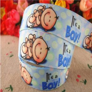 Grosgrain Ribbon - Its A Boy Theme