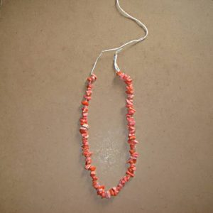 Glass Uncut Beads - Coral Pink