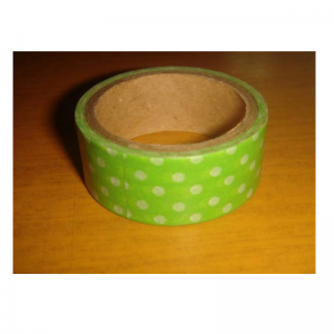 Polka Dot Washi Tape - Green