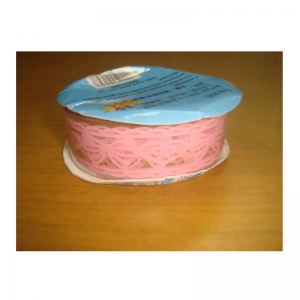 Lace Tape Pink With Bow & Heart