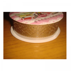 Lace Tape Gold With Heart