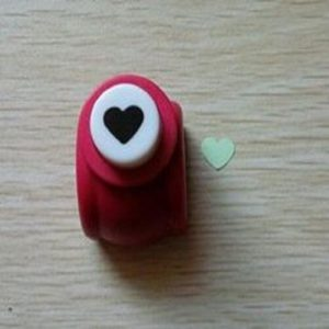 Mini Heart Paper Punch