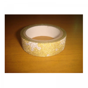 Glitter Tape Gold & White Colour