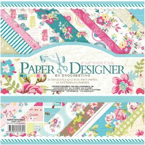 Eno Greeting Scrapbook Paper Pack 1