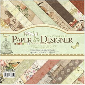 Eno Greeting Scrapbook Paper Pack 7