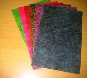 Handmade Mixed Patterned Paper