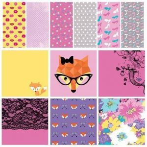 Foxy Lady Theme 6 x 6 Paper Pack
