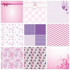 Baby Girl Theme Paper Pack