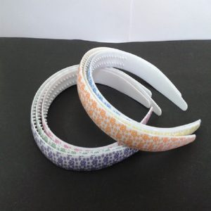 Plastic Head Bands With Colour Circles