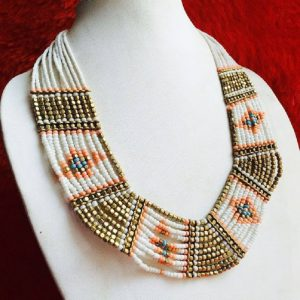 Bohemian Style Beads Necklace