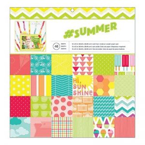 American Crafts Summer Paper Pack