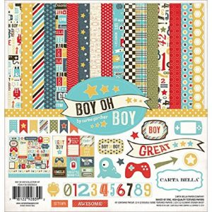 Carta Bella Boy Oh Boy Paper Pack