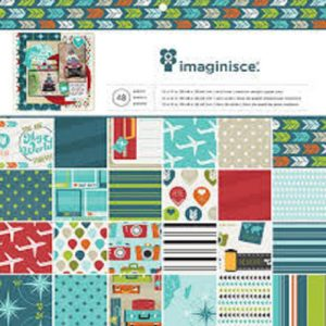 American Crafts Imaginisce Perfect Vacation Paper Pack