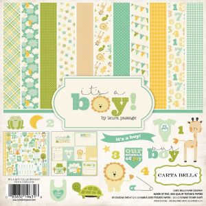 Carta Bella It's A Boy Paper Pack