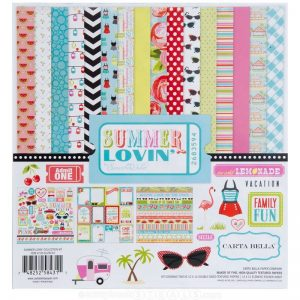 Echo Park Summer Lovin Paper Pack