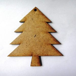 Christmas Tree MDF Cutout
