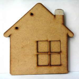 House Shape MDF Album
