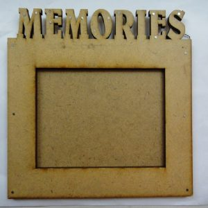 Memories MDF Photo Frame