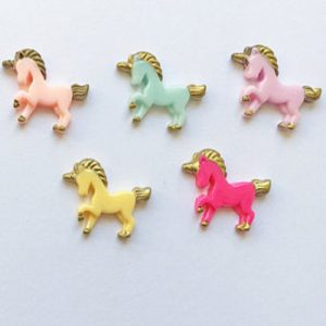 Unicorn Resin Embellishment