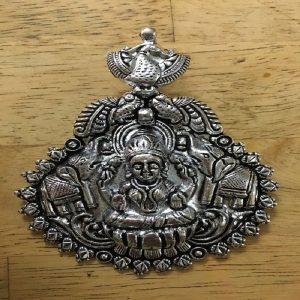 Lakshmi With Elephant Pendant