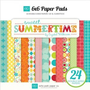 Sweet Summertime Paper Pack