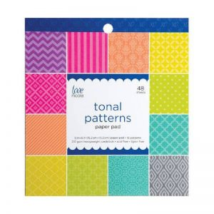 Tonal Patterns Paper Pad