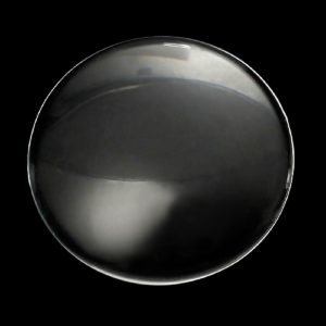 Round Transparent Flat Back Glass Cabochons 40 MM