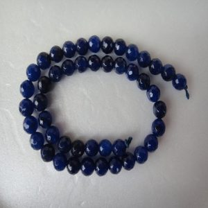 Indigo Blue Agate Beads