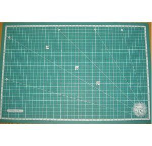 Morn Sun Cutting Mat With Measurement Grid