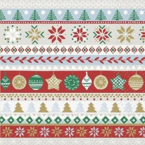 The Christmas Theme  Decoupage Napkin