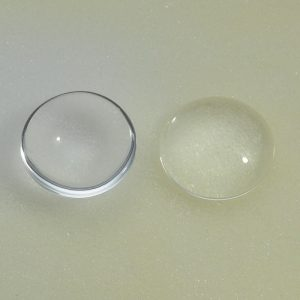 Round Transparent Flat Back Glass Cabochons 25mm