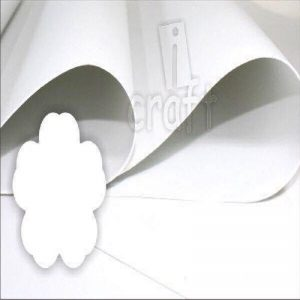 iCraft Flower Making Foam Sheets - White