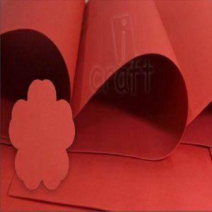 iCraft Flower Making Foam Sheets - Red
