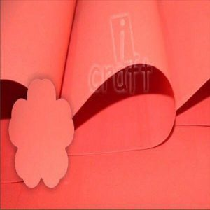 iCraft Flower Making Foam Sheets - Tomato Red