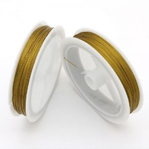 Tiger Tail Wire Gold