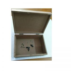 MDF Box With Lock Set