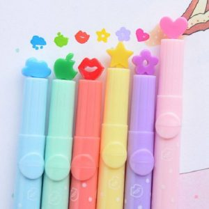 Cute Candy Colour Stamp Marker Pens