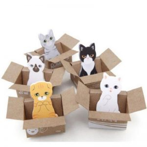 Cute Cat Memo Sticky Notes