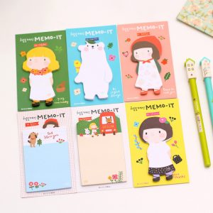 Little Girl Memo Pad