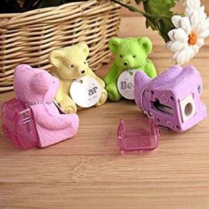 Teddy Bear Eraser And Sharpener