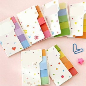 Candy Colour Sticky Note Pad