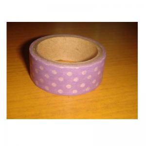 Polka Dot Washi Tape -Purple