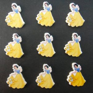 Disney Princess Wooden Button