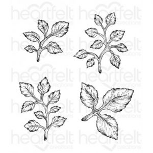 Open Leaf Stamp